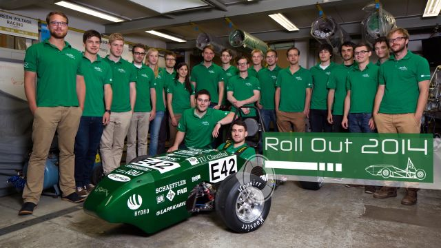 Roll Out für den Green Voltage Racer 3
